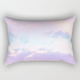 Unicorn Pastel Clouds #1 #decor #art #society6 Rectangular Pillow