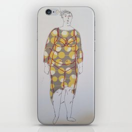 Is My Body Not Enough - Jess iPhone Skin