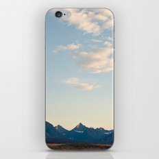 Glacier Mountains at Sunset iPhone & iPod Skin