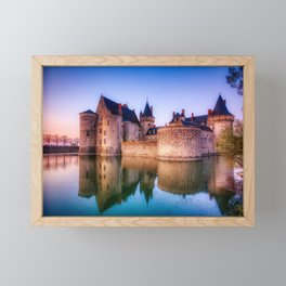 Sully Sur Loire, France Framed Mini Art Print
