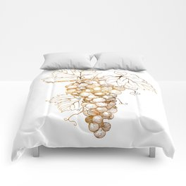 Grapes of Dionysus God of Wine Comforters