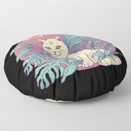 Vapor Cat Floor Pillow