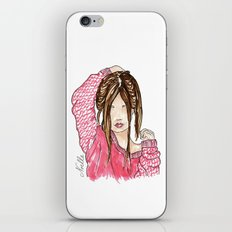 El'Lee Fashion Illustration iPhone & iPod Skin