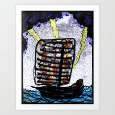 The Storms We Find Ourselves In Art Print