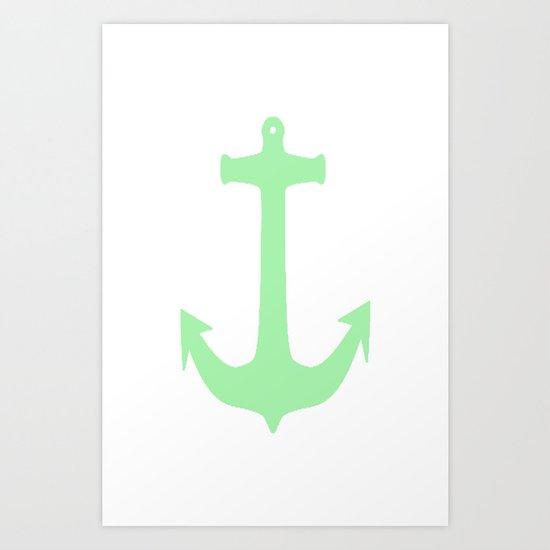 Meadow Anchor Art Print