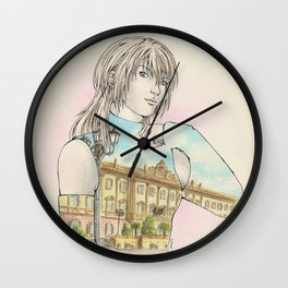 OC: Agnese x Sassari Wall Clock