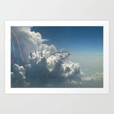 Cloud Park  Art Print
