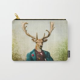 Lord Staghorne in the wood Carry-All Pouch