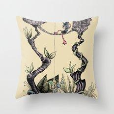 Tree Fun! Throw Pillow