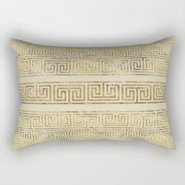 Greek Meander Pattern - Greek Key Ornament Rectangular Pillow