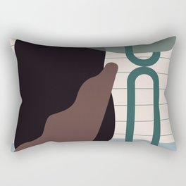// Shape study #26 Rectangular Pillow