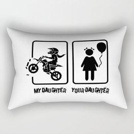 My Daughter and Your Daughter Rectangular Pillow