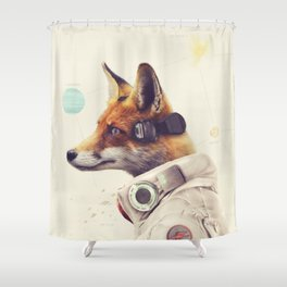 Star Team - Fox Shower Curtain