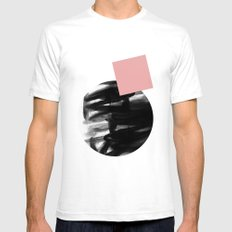 Minimalism 12 White SMALL Mens Fitted Tee
