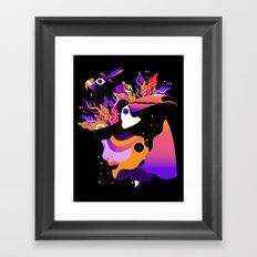 Tropical Night ✨ Framed Art Print
