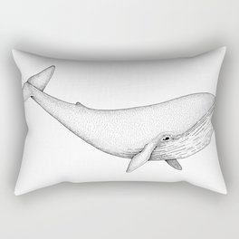 Blue Whale Rectangular Pillow