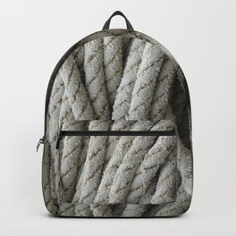 skein of fishing rope   Backpack