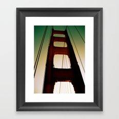 Golden Gate Part Two Framed Art Print