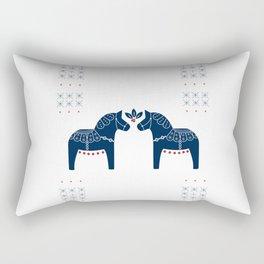 Dala Horse Rectangular Pillow