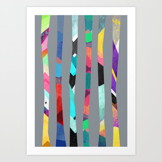 Trees - II Art Print