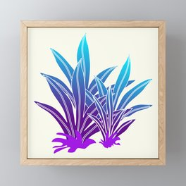 Tropic Violet  #society6 #buyart #decor Framed Mini Art Print