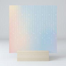 Stars & Moons Mini Art Print