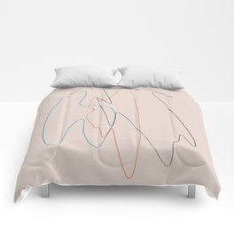 Line Study Comforters