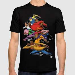 Fat Albert and the gang T-shirt