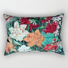 Midnight Garden Rectangular Pillow