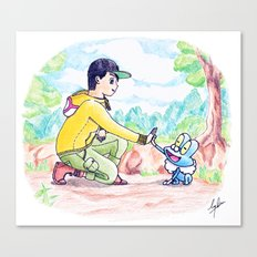 Journey to be the very best! Canvas Print