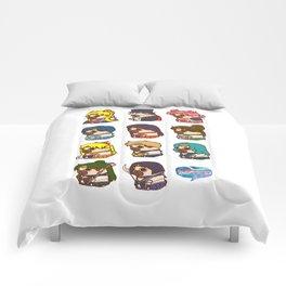Pretty Soldier Sailor Puglie Comforters