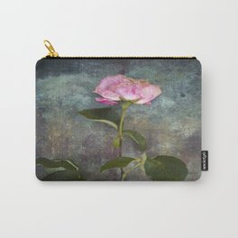 Single Wilted Rose Carry-All Pouch