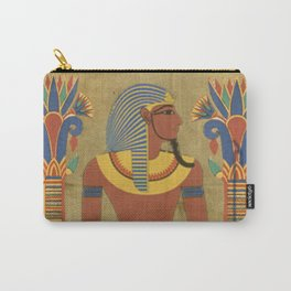 egyptian tutunkhamun pharaoh design Carry-All Pouch