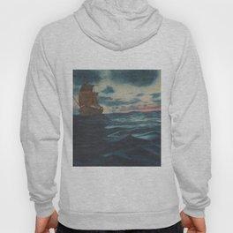 Sailing Boat- in oil Hoody