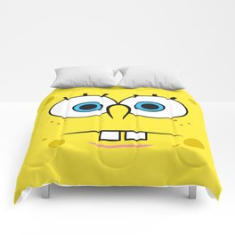 Spongebob Surprised Face Comforters