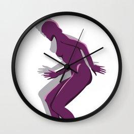 MagentaLady_3 Wall Clock
