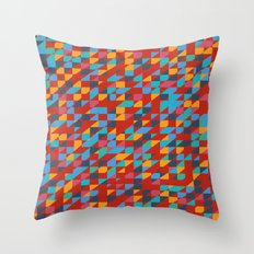Thrown Together Throw Pillow