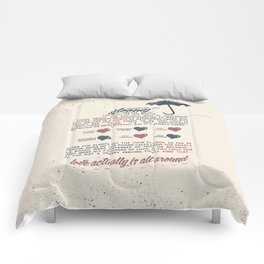 Love Actually Comforters