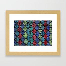 AFRICAN PATTERN Framed Art Print