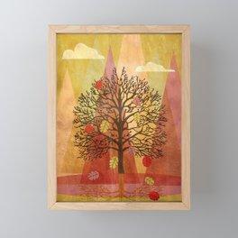 Autumn Tree Framed Mini Art Print