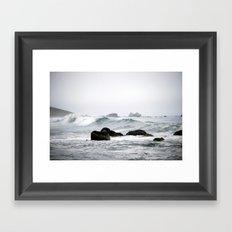 Ocean Line Framed Art Print