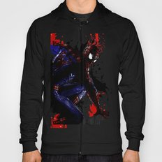 Spiderman in London Close up Hoody