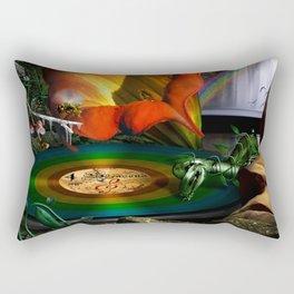 The four seasons Rectangular Pillow