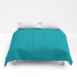 Turquoise Blue Teal | Solid Colour Comforters