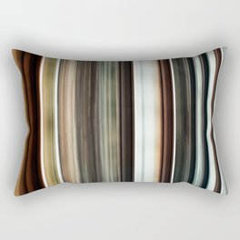 Train Tracks Abstract Lines and Shapes Rectangular Pillow