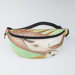 Fishnet Pop Art Fanny Pack