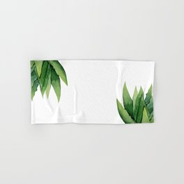 Aloe Vera. Hand & Bath Towel