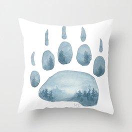 Misty Mountain Hop Throw Pillow