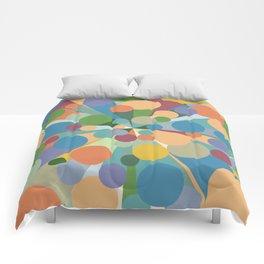 Geometric No. 23 - Causeway 4 Comforters