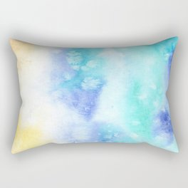 Sea vibes || watercolor Rectangular Pillow